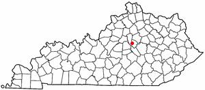 Location Of Wilmore Kentucky