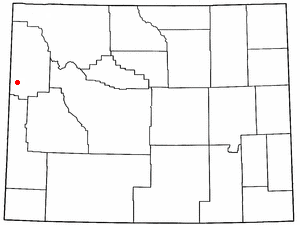 Location Of Wilson Wyoming