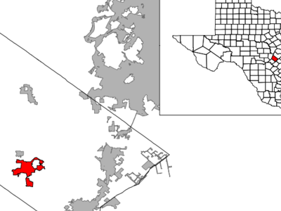 Location Of Wimberley Texas