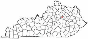 Location Of Winchester Kentucky