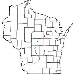 Location Of Wittenberg Wisconsin