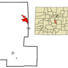 Location In Teller County And The State Of Colorado