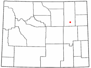 Location Of Wright Wyoming