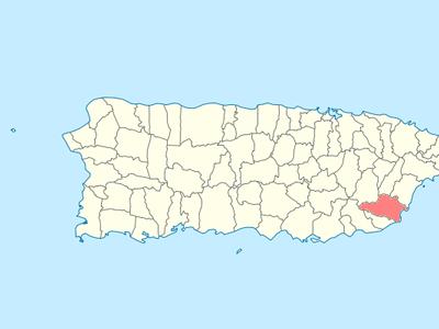 Location Of Yabucoa