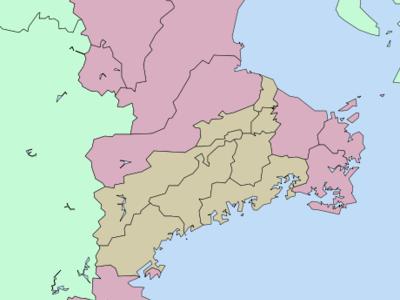 Location Of Yokkaichi In Mie