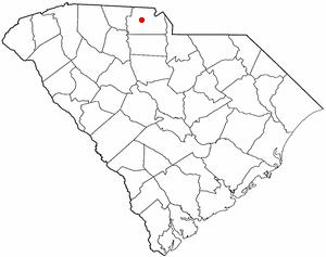 Location Of York South Carolina