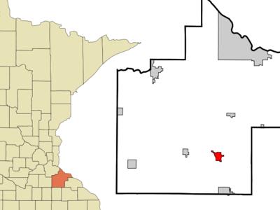 Location Of Zumbrota Minnesota