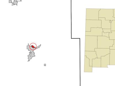 Location Of La Huerta New Mexico