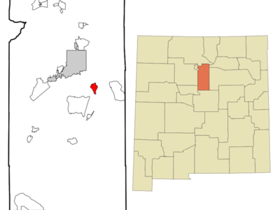 Location Of Canada De Los Alamos New Mexico