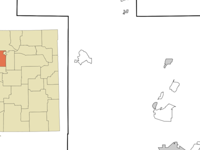 Location Of Cochiti New Mexico