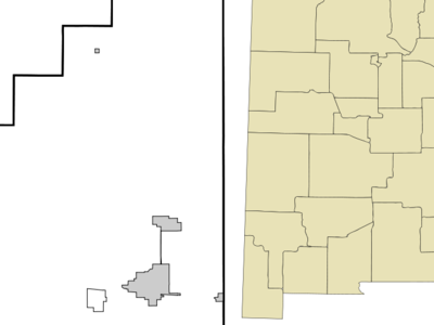 Location Of Melrose New Mexico