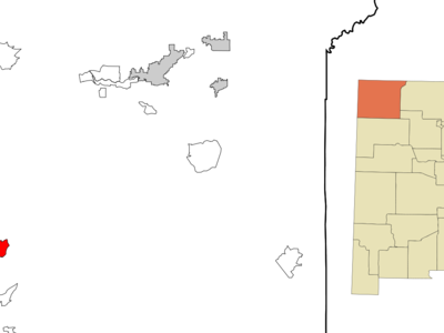 Location Of Newcomb New Mexico
