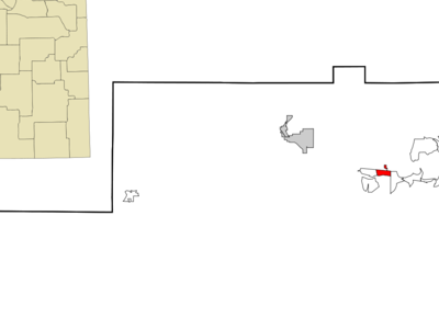 Location Of North Acomita Village In New Mexico