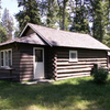 Logging Creek Ranger Station Historic District - Glacier - USA