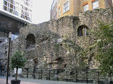 Fragment Of The Wall At Cooper's Row