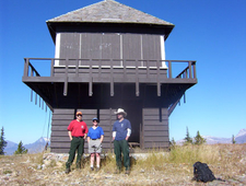 Loneman Fire Lookout - Glacier - USA