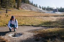 Lone Star Geyser Basin Trail - Yellowstone - Wyoming - USA
