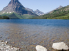 Lone Walker Mountain At Glacier - USA