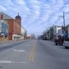 Looking North On High Street In Hillsboro