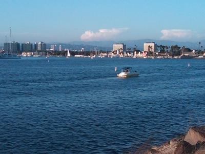 Looking Northeast Into The Heart Of Marina Del Rey