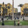 Looking South Across Plaza De Armas