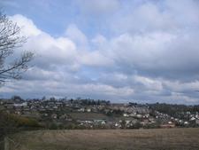 Looking West Over Banbridge