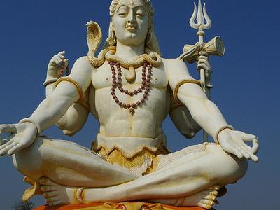Lord Shiva Statue - Bijapur
