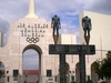 Los Angeles Memorial Coliseum Entrance