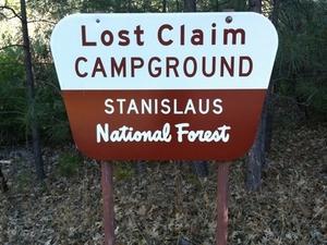 Reclamación Perdido Campground