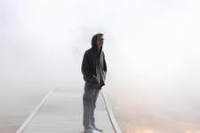 Lost In Mist - Midway Geyser Basin Trail