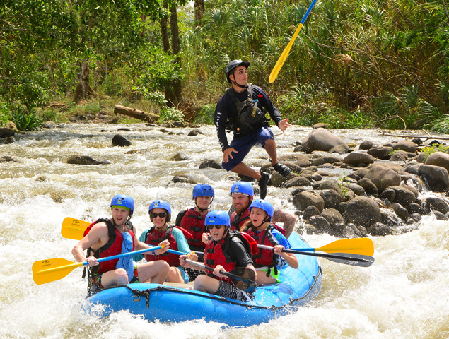 Whitewater Rafting II & III Photos