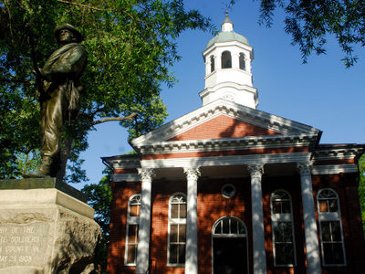 Loudoun County  Courthouse In  Leesburg