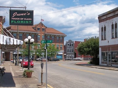 Louisa Street In Downtown Catlettsburg
