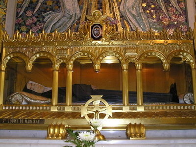 Tomb Of Louise De Marillac
