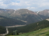 Looking East Atop Loveland Pass