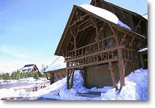 Lower Hamilton Store - Yellowstone - USA