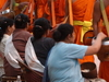 Luang  Prabang Monks Alm Dawn