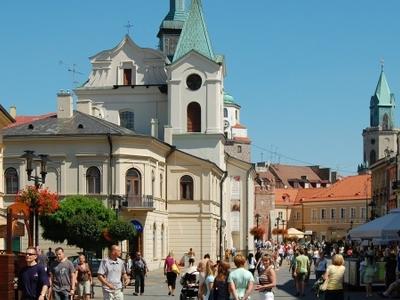 Krakowskie Przedmiescie Street Lublin