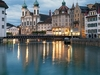 Lucerne - Reuss River - Switzerland