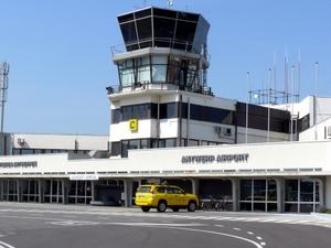 Amberes Internacional. Aeropuerto