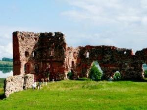 Ludza ruinas del castillo medieval