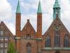 Luebeck   Heiligen   Geist   Hospital Von  Westen Gesehen