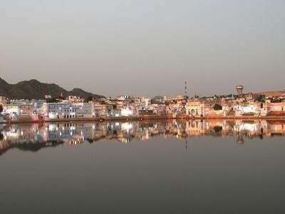 Luni River Tributary At Pushkar