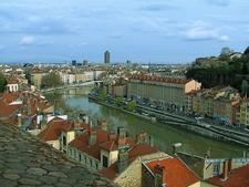 Lyon Vu De La Croix-Rousse