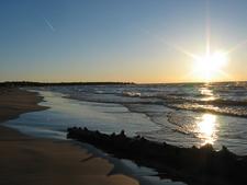 Ipperwash Beach Lake Huron