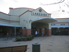 Lakeside Joondalup Shopping City Entrance