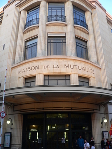 Entrance Of The Maison De La Mutualité