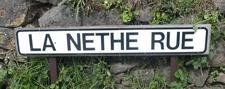 La Nethe Rue Road Sign Jersey