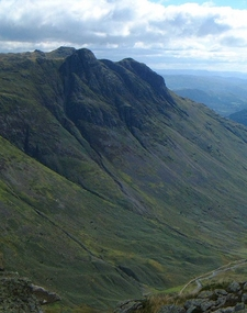 Langdale Pikes From Rossett Pike