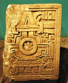 Tombstone Found In Cerro De Las Minas